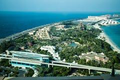 Ладонь, Дубай Стоковые Изображения