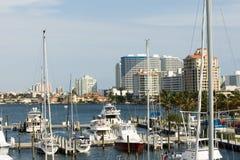 Ладонь Пляж-Флорида Стоковые Изображения RF