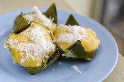 Ладонь сахара десерта тайская сладостная. Стоковые Фото