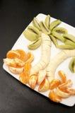 Ладонь сделанная из плодоовощей Стоковое фото RF
