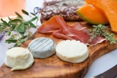 Ла Провансаль плиты a ветчины сыра стоковые фотографии rf