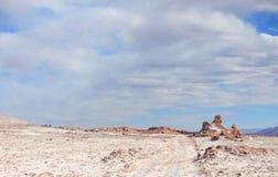 Ла луна de долины (Чили) Стоковые Фото