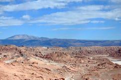 Ла луна de долины (Чили) стоковая фотография rf
