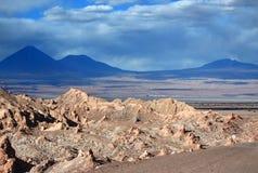 Ла луна de долины (Чили) Стоковое фото RF
