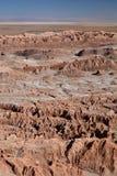 Ла луна Valle de или долина луны San Pedro de Atacama Чили Стоковые Фото
