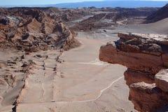 Ла луна Valle de или долина луны San Pedro de Atacama Чили Стоковая Фотография RF