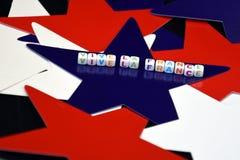 Ла Франция Vive Французский национальный праздник на 14-ое июля Стоковое Изображение RF