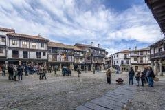 Ла Alberca, Саламанка, Испания Стоковые Фотографии RF