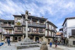 Ла Alberca, Саламанка, Испания Стоковые Изображения RF