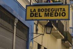 Ла bobeguita del medio, Habana Стоковое Изображение RF