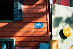 Ла Boca, Буэнос-Айрес Аргентина Стоковое фото RF