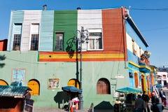 Ла Boca, Буэнос-Айрес Аргентина Стоковые Фото