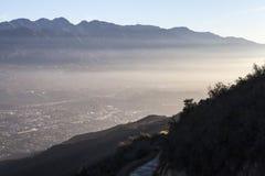 Ла Canada Flintridge около Лос-Анджелеса Калифорнии Стоковая Фотография RF