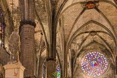 Ла Catedral Del Mar Стоковая Фотография