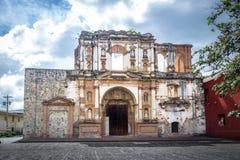 Ла Compania de Иисус - Антигуа, Гватемала Стоковое Фото