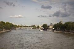 Ла Conciergerie, бывший королевский дворец и тюрьма в Париже Стоковая Фотография RF