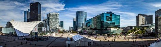Ла Défense Париж Стоковые Фотографии RF