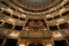 Ла Fenice Gran Teatro Стоковые Изображения RF