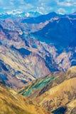 Ла Ghanda, трек долины Markha, Ladakh, северная Индия Стоковые Изображения RF