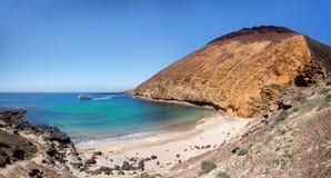 Ла Graciosa - Playa de Ла Cocina Стоковые Изображения RF