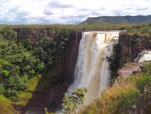 Ла Gran Sabana, падения Aponwao Стоковое Фото