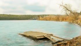 Ла Hache Lac Стоковое Фото