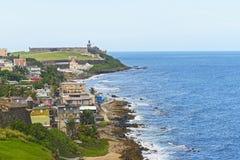 Ла Perla, Сан-Хуан, Пуэрто-Рико Стоковое Фото