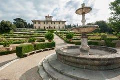 Ла Petraia виллы, раз резиденция семьи Medici стоковые фото