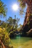 Ла Piscine Naturelle Стоковое Фото