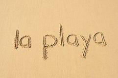 Ла Playa Стоковые Фотографии RF