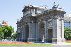 Ла Puerta de Alcala Стоковое Фото