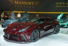 Ла Revoluzione Mansory F12 стоковое изображение rf