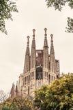 Ла Sagrada Familia стоковые изображения