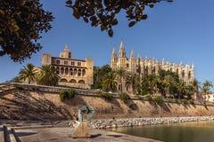 Ла Seu - Palma de Mallorca - Испания Стоковые Изображения RF