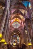 Ла Seu Palma de Mallorca собора Стоковые Изображения RF