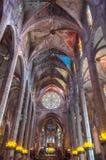 Ла Seu Palma de Mallorca собора Стоковые Фотографии RF