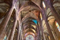 Ла Seu Palma de Mallorca собора Стоковое Изображение RF