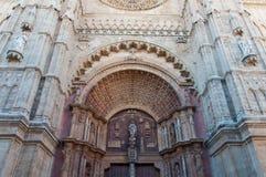 Ла Seu Palma de Mallorca собора Стоковое фото RF
