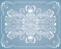 Лебеди свадьбы Стоковые Изображения