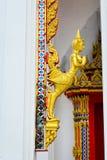 Левая статуя Полу-женщин Полу-птицы Стоковое Фото