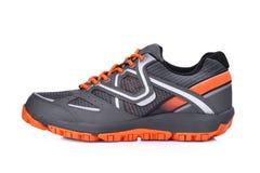 Левая сторона нового unbranded ботинка спорта изолированного на белизне Стоковые Фото