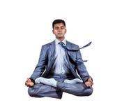Левитация йоги дела Стоковые Фото