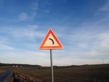 левый знак к Стоковое Фото