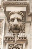 Лев на куполе Стоковое Изображение RF