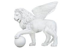 Лев памятника старины Стоковое Изображение RF