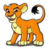 Лев иллюстрация штока