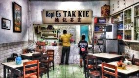 Легендарный замороженный кофе Джакарта стоковое фото rf