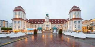 Легендарное Kurhaus Binz, остров Ruegen стоковое изображение rf
