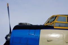 Легендарный ретро самолет Стоковая Фотография