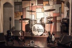 Легендарный этап где Beatles играло Стоковое Фото